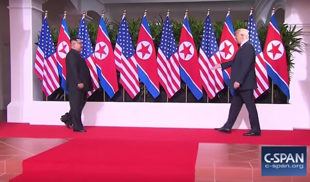 donald trump i Kim Jong Un