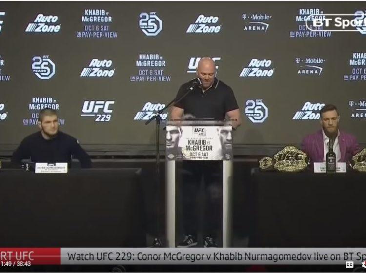 Govor tijela Khabib Nurmagomedov vs Conor McGregor